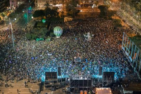 آلاف الإسرائيليين يحيون ذكرى اغتيال رابين