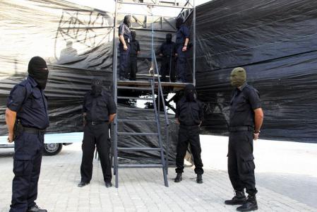 إعدام العملاء في غزة