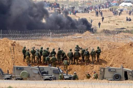 جيش الاحتلال يغير قواعد إطلاق النار عند حدود غزة