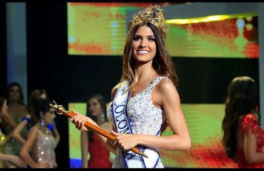 حسناء لبنانية تصبح ملكة جمال كولومبيا