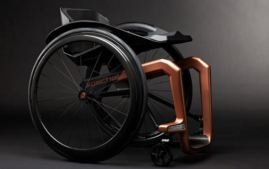 أخف كرسي متحرك في العالم.. ابتكار عصري وحديث