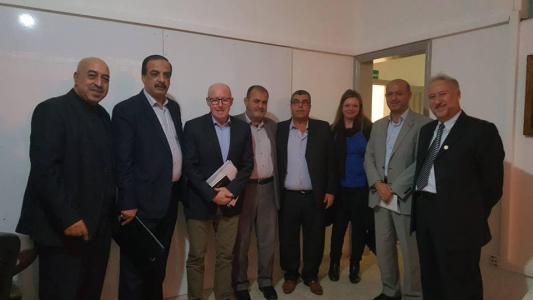 القطاع الخاص يبحث مع نائب ميلادينوف خطة للإنعاش الاقتصادي بغزة