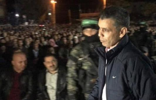 اللواء أحمد عبد الخالق يشارك في حفل تأبين شهداء القسام