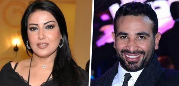شاهد| سمية الخشاب تطرح أغنية جديدة لها.. وهذا رد فعل زوجها أحمد سعد