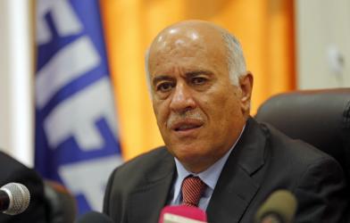 الرجوب: لم نطلب من حركة حماس التخلي عن سلاح المقاومة أوالاعتراف بإسرائيل