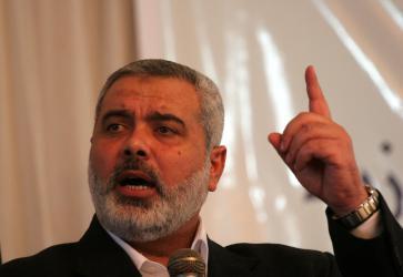 هنية: العودة لوقف إطلاق النار ممكن إن توقف الاحتلال عن عدوانه