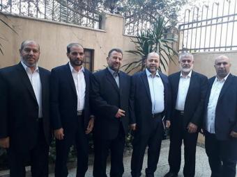 وفد حماس يبدأ مشاوراته مع المخابرات المصرية في القاهرة