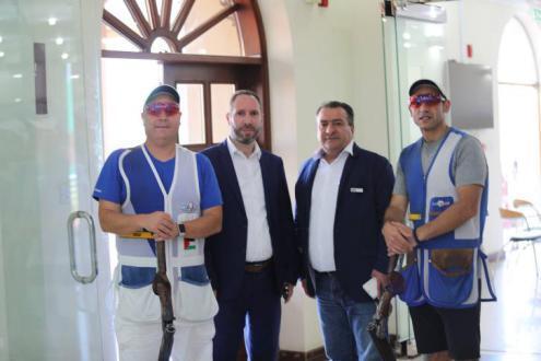 فلسطين تختتم مشاركتها في البطولة العربية الرابعة عشرة للرماية