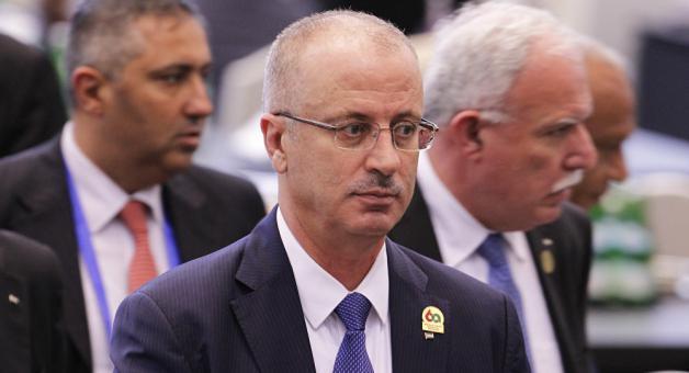 رئيس الوزراء الفلسطيني الدكتور رامي الحمد الله