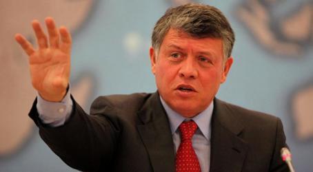 ملك الأردن: ترك الصراع الفلسطيني الإسرائيلي دون حل يخدم أجندة الإرهابيين