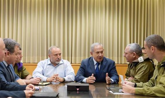"""""""الكابينت"""" يقرر مواصلة العدوان على غزة"""