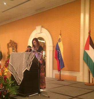 سفارة دولة فلسطين لدى فنزويلا تحيي ذكرى إعلان الاستقلال