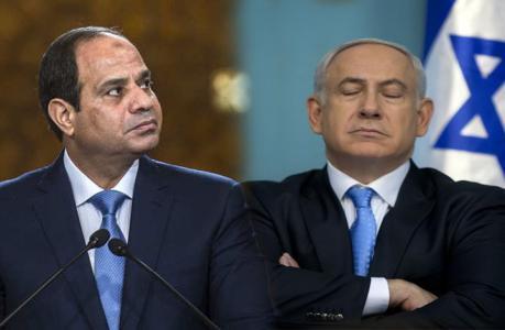 موقع عبري يكشف رسالة السيسي الى نتنياهو بوقف العدوان على غزة