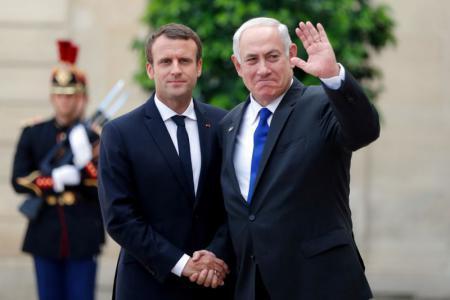 نتنياهو يتوجه الليلة إلى باريس