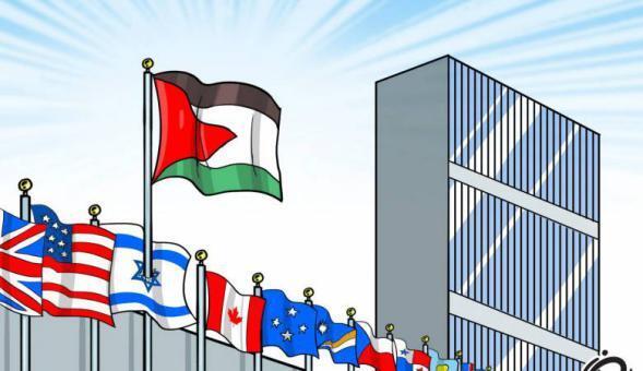 التصويت بأغلبية ساحقة على 7 قرارات لصالح فلسطين
