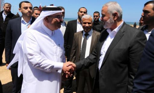 """الوطن اليوم - العمادي: نعمل مع إسرائيل والأمم المتحدة لإيجاد حل لغزة.. و""""الشاباك"""" وضع آلية صرف الأموال"""