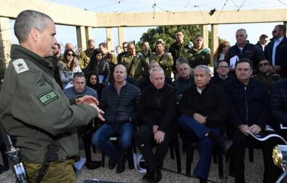 """جيش الاحتلال يرفض طلب نتنياهو بالإعلان عن انتهاء """"درع شمالي"""""""