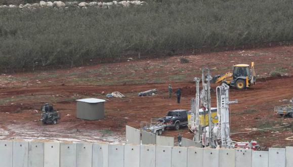 جيش الاحتلال يعلن العثور على نفق رابع على الحدود اللبنانية