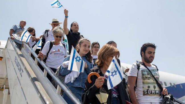"""صحيفة عبرية: 3.2 مليون فرد هاجروا إلى """"إسرائيل"""" منذ تأسيسها"""