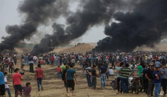 """غزة تستعد لجمعة """"المقاومة حق مشروع"""""""