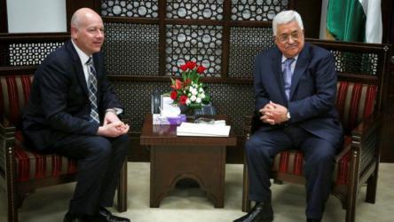 معلقا على عملية عوفرا.. جرينبلات للرئيس محمود عباس: هل ستُدينها هذه المرة؟