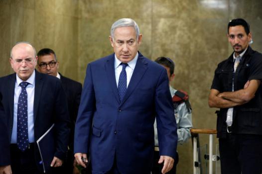 """نتنياهو لسكان """"غلاف غزة"""": صمودكم يساعد الكابينت على اتخاذ قرارات في الوقت المناسب"""
