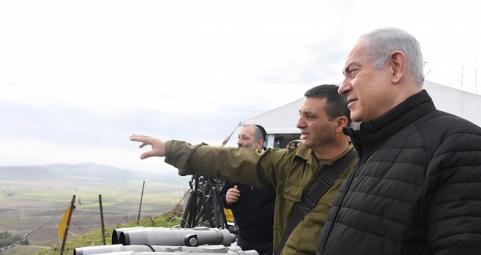 """نتنياهو يطالب """"يونيفيل"""" بإجراءات """"أكثر شدة"""" ضد """"حزب الله"""""""