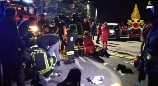 الوطن اليوم - إيطاليا.. مقتل ستة أشخاص في تدافع بملهى ليلي