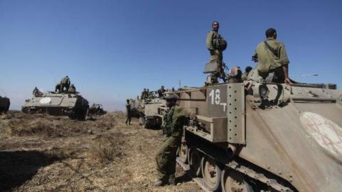 جيش الاحتلال الاسرائيلي ينذر بتوسيع العملية و صفد تجري فحصاً فورياً للملاجئ