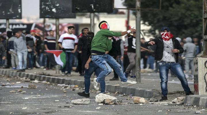 مواجهات مع جيش الاحتلال في عدة أحياء برام الله