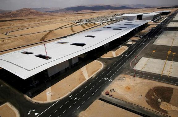 """""""إسرائيل"""" تستعد لافتتاح ثاني مطار دولي في 22 يناير"""