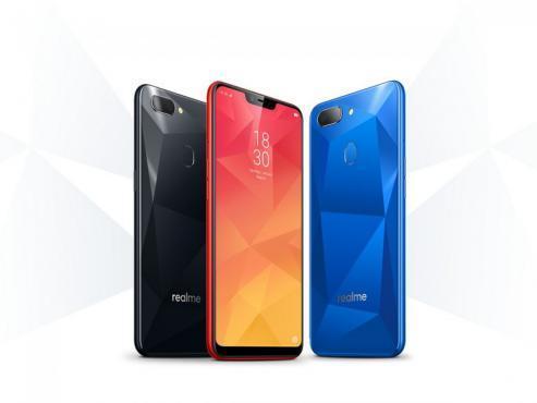 مبيعات الهاتف Realme 2 تصل إلى 2 مليون وحدة