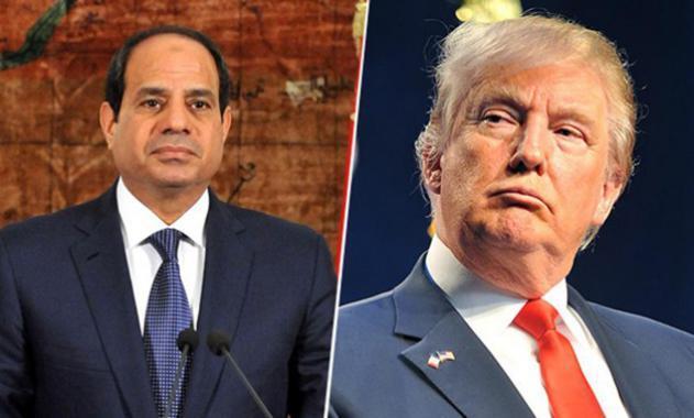 السيسي يبحث مع ترامب التطورات في ليبيا وسوريا واليمن