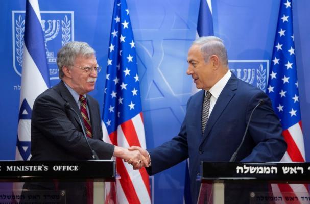 """بولتون يصل """"إسرائيل"""" للقاء نتنياهو"""