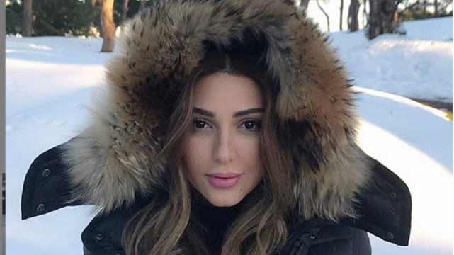 شاهد.. ميريام فارس وسط الثلوج