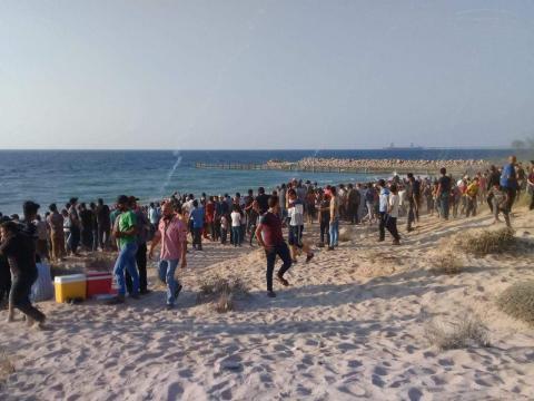 تأجيل الحراك البحري الـ(22) في شمال قطاع غزة