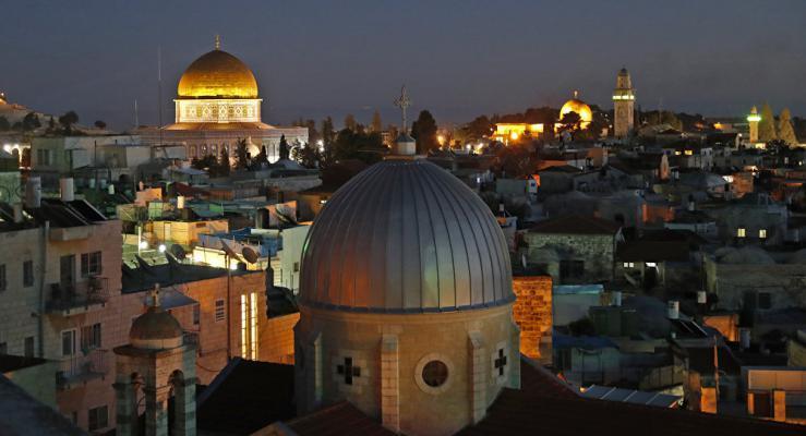 """أئمة مساجد من ألبانيا يزورون """"الأقصى"""""""