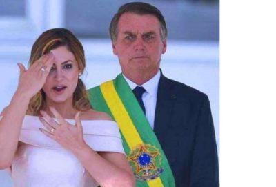 زوجة رئيس البرازيل الجديد تلقي خطابا بلغة الإشارة (فيديو)