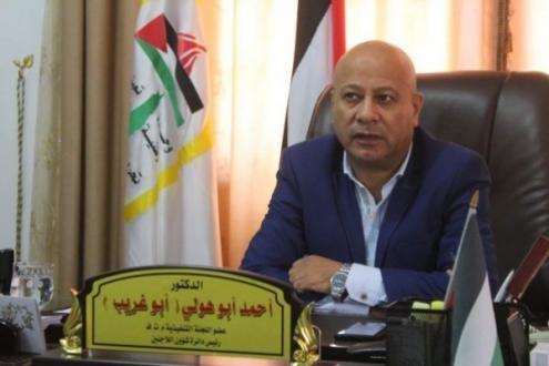 أبو هولي يطالب الأمم المتحدة الدفاع عن مؤسسات الأونروا