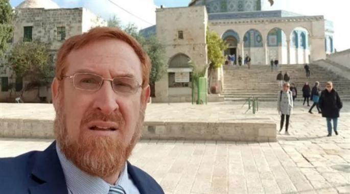 """المتطرف """"غليك"""" يقتحم المسجد الاقصى"""