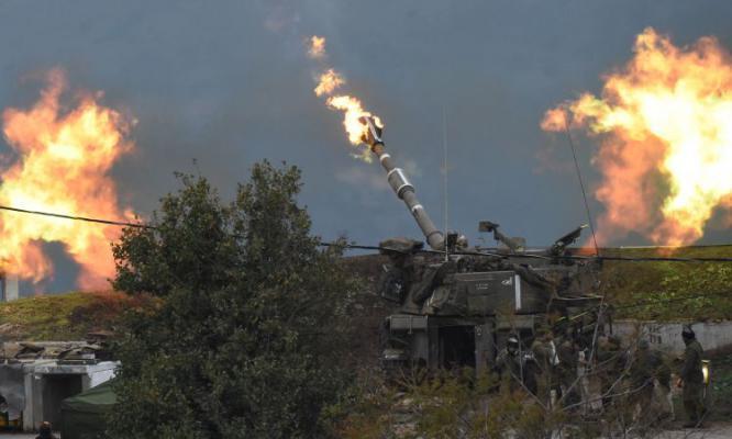 مدفعية الاحتلال تستهدف نقطة رصد شمالي القطاع