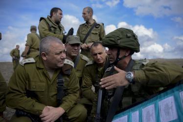 آيزنكوت: الجيش الإسرائيلي مستعد لعملية برية غير واسعة بغزة