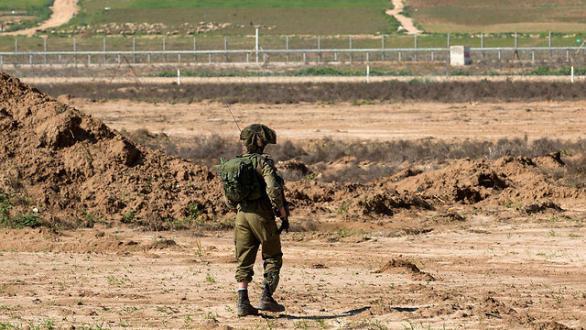 إصابة جندي إسرائيلي شرق غزة