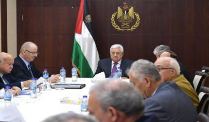 مشاورات عقد المركزي مستمرة.. واجتماع تشاوري للجنة التنفيذية لمنظمة التحرير اليوم
