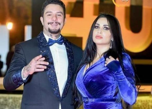 أحمد الفيشاوي وزوجته يثيران الجدل من جديد (شاهد)