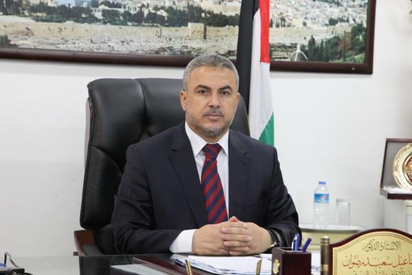 إسماعيل رضوان: قطاع غزة آيل للانفجار وأصبح كالقنبلة الموقوتة