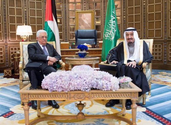 تفاصيل اجتماع الرئيس عباس مع الملك سلمان في السعودية