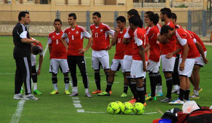 المنتخب الأولمبي المصري يخوض مباراتين في الضفة وقطاع غزة