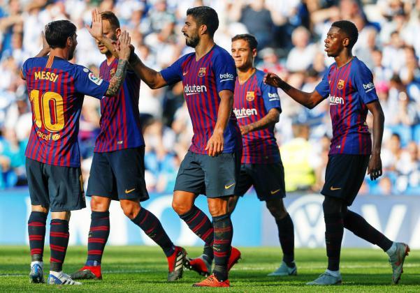 تشكيلة برشلونة أمام ريال مدريد في كأس ملك أسبانيا 2019