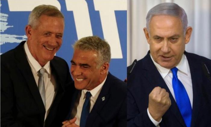 استطلاعات إسرائيلية.. غانتس ولبيد يهزمان نتنياهو وتياره